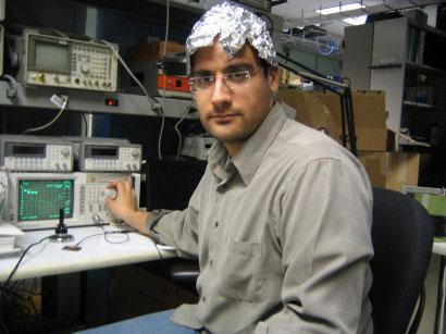 On the Effectiveness of Aluminium Foil Helmets:  An Empirical Study