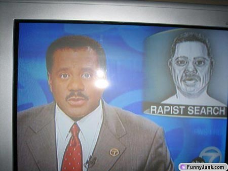 Help Find An Extremely Familiar Looking Rapist . . .