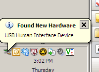 "I love that Windows refers to things as ""Human Interface Devices"" - it is clearly aware of itself as a non-organic life form..."
