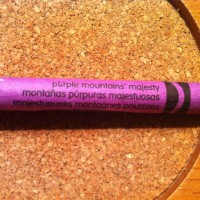 """Majestueuses Montagnes Pourpress"" : finally, Crayola has my favorite color!"