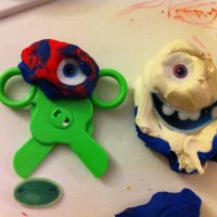 Play Dough creatures