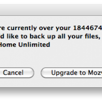 Come on, Mozy -- I'm only using 18446744073.71 GB. Get bigger servers!