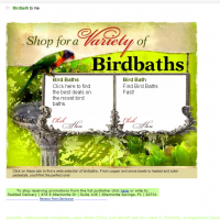 SPAM email of the day - from good ol' Birdbath
