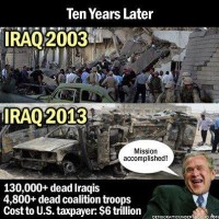 Iraq, 10 years later...